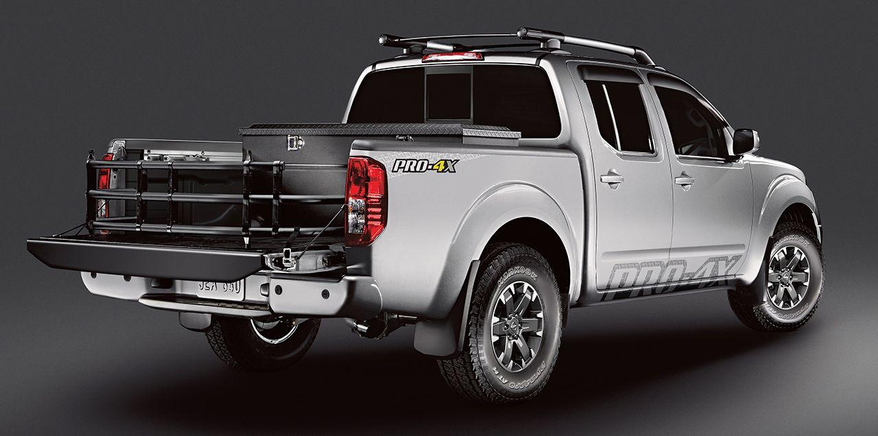 2018 Nissan Frontier truck bed