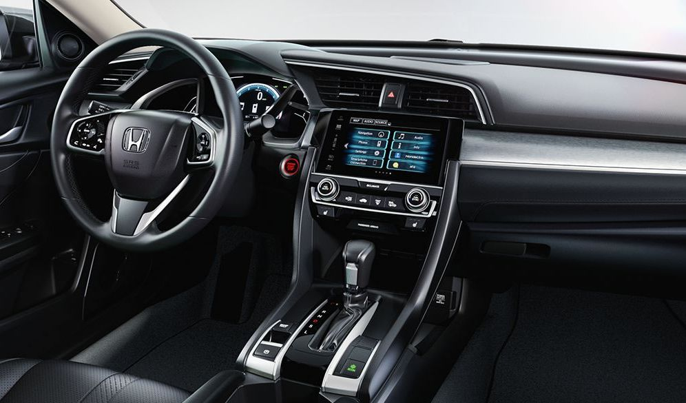 Interior of the Civic
