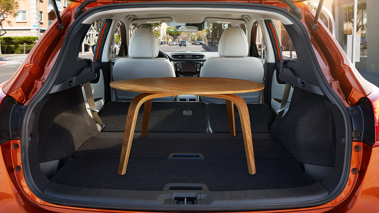 The Rogue Sport's Spacious Cargo Space
