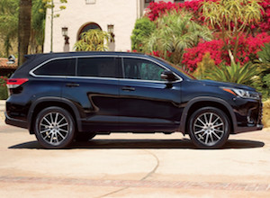 Exterior of the 2018 Toyota Highlander