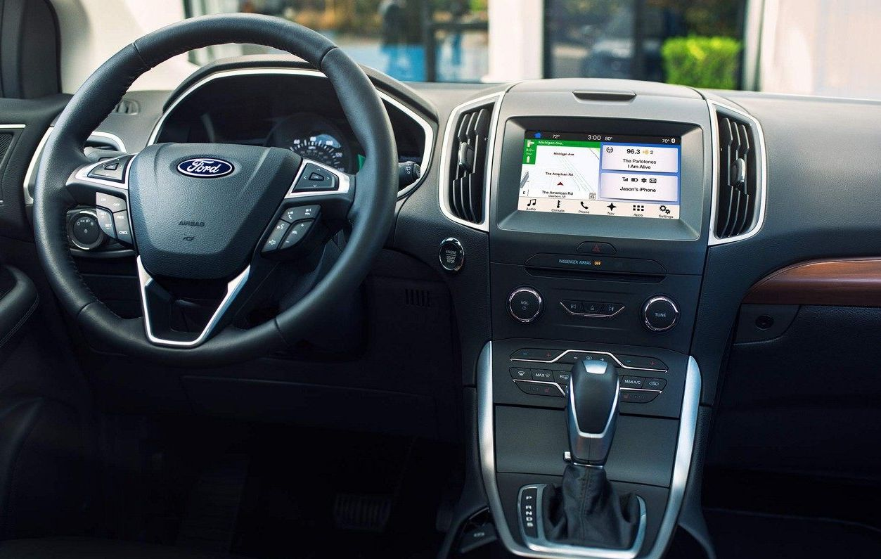Ford Edge With Available Navigation
