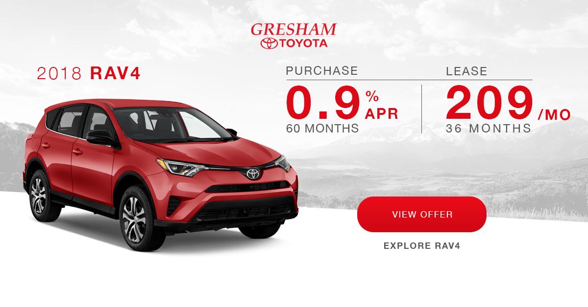 Current Ads Gresham Toyota