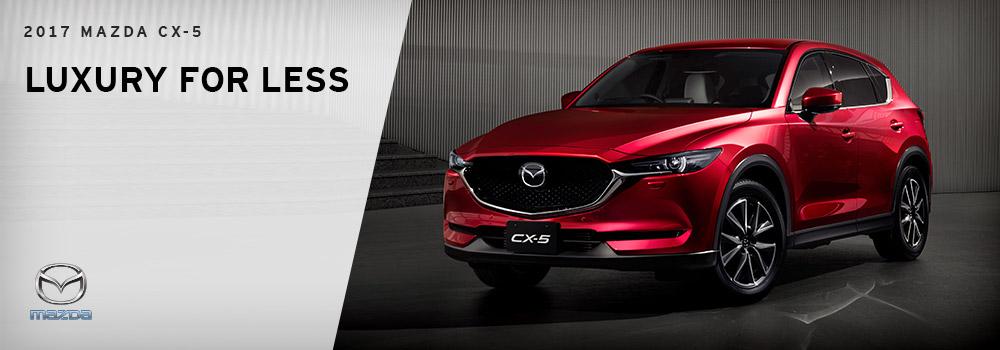 2017 Mazda CX-5 - Luxury Comparison - Wantagh Mazda