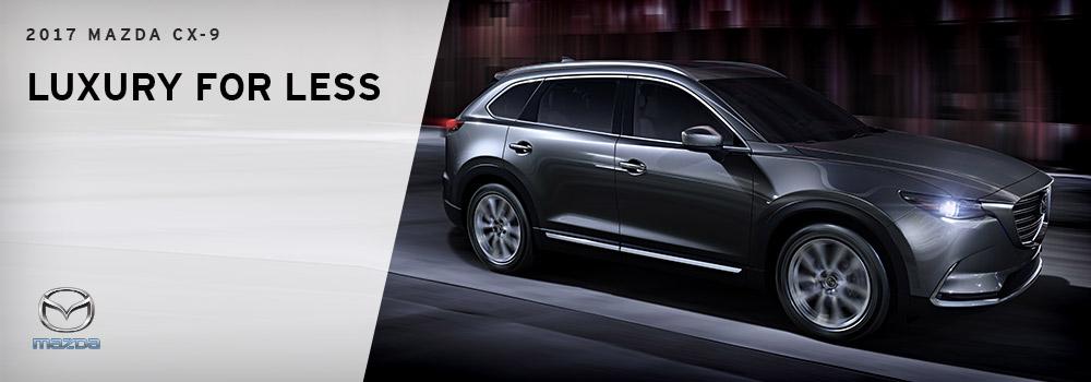 2017 Mazda CX-9 - Luxury Comparison - Wantagh, NY - Wantagh Mazda