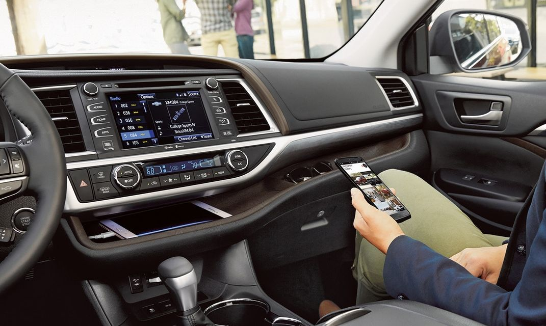The Feature-Rich Interior of the 2018 Toyota Highlander