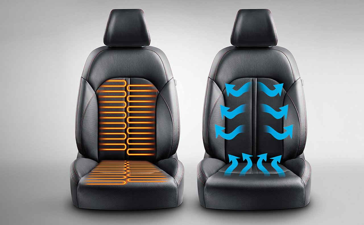 Available Heated and Ventilated Front Seats in the Optima