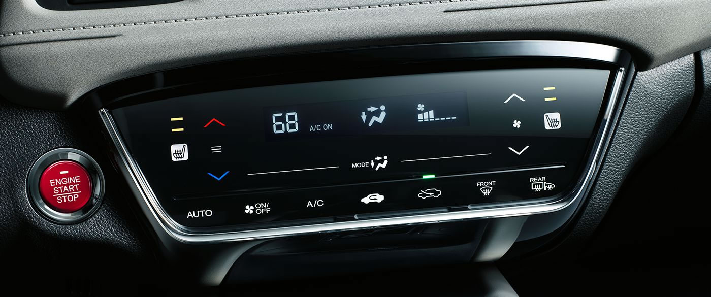 Start the HR-V With The Push of A Button!
