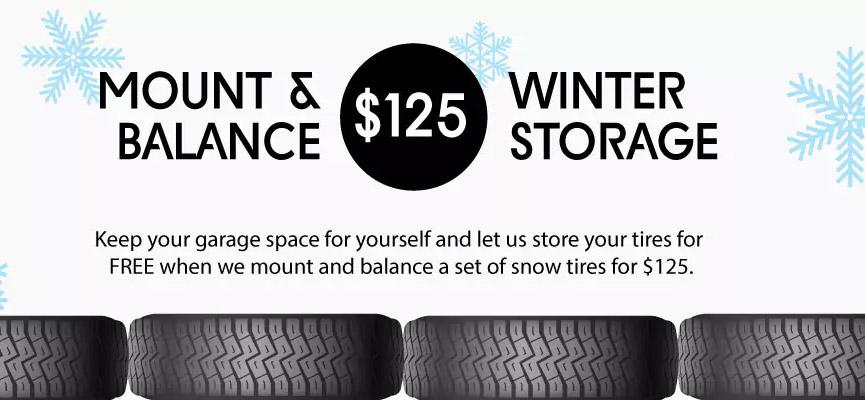 Snow Tire Storage Special - Vern Eide Acura - Vern Eide Acura