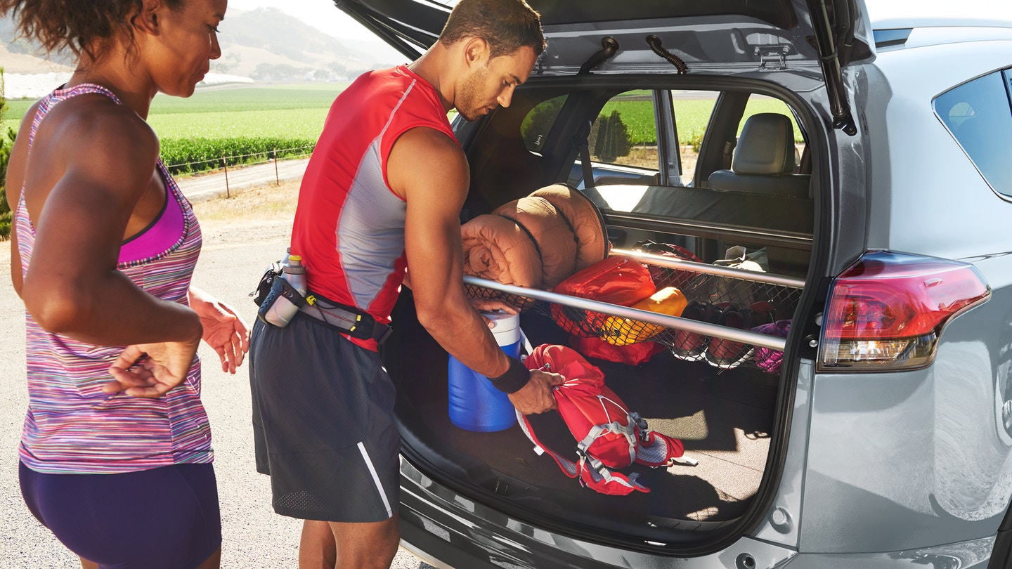 The Ample and Versatile Cargo Space of the RAV4