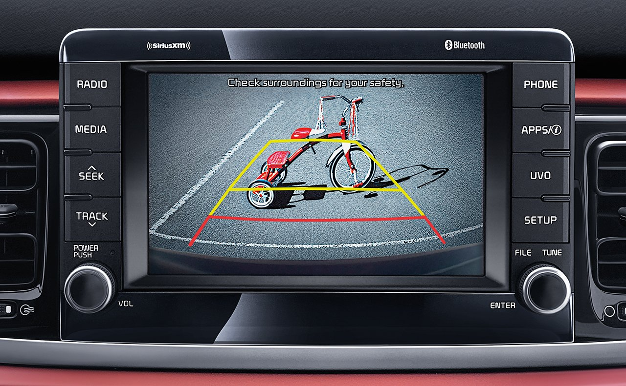 Rear-Camera Display in the Kia Rio