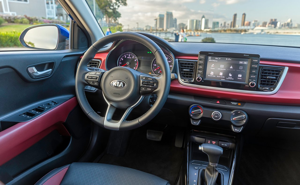 2018 Kia Rio Leasing In Littleton Co Peak Driving Lights Interior