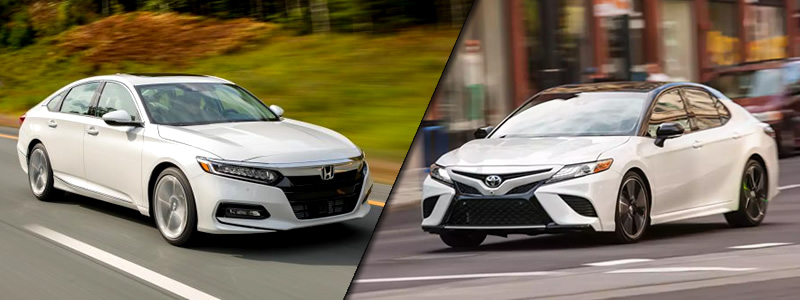 Accord Vs Camry >> 2018 Honda Accord Vs Toyota Camry Honda Dealer Near Pasadena
