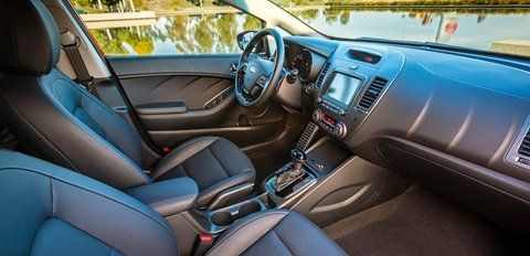 Accommodating Interior of the 2018 Kia Forte