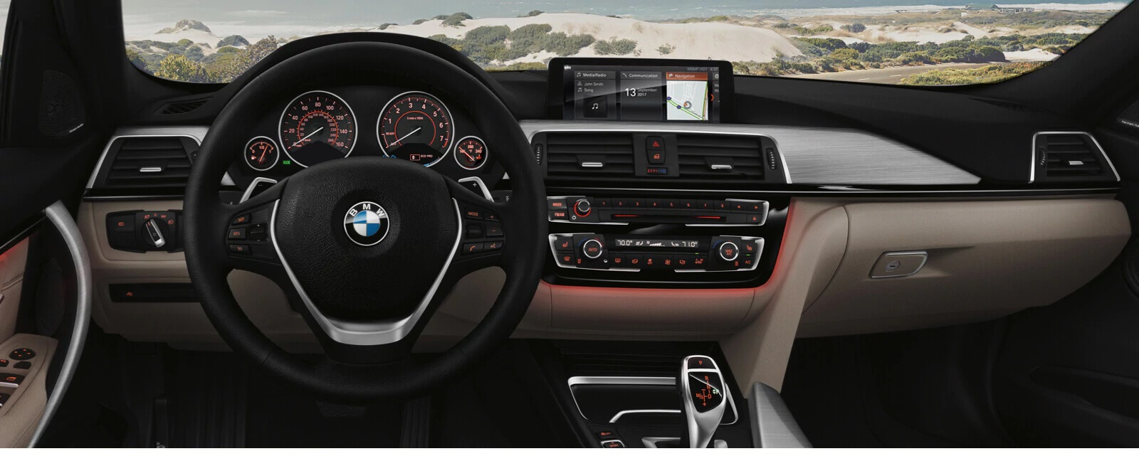 Interior of the BMW 3 Series