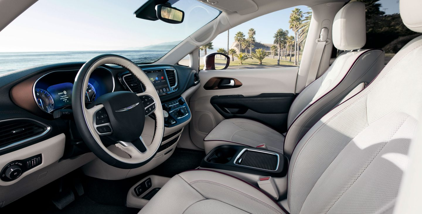 Interior of the 2018 Chrysler Pacifica