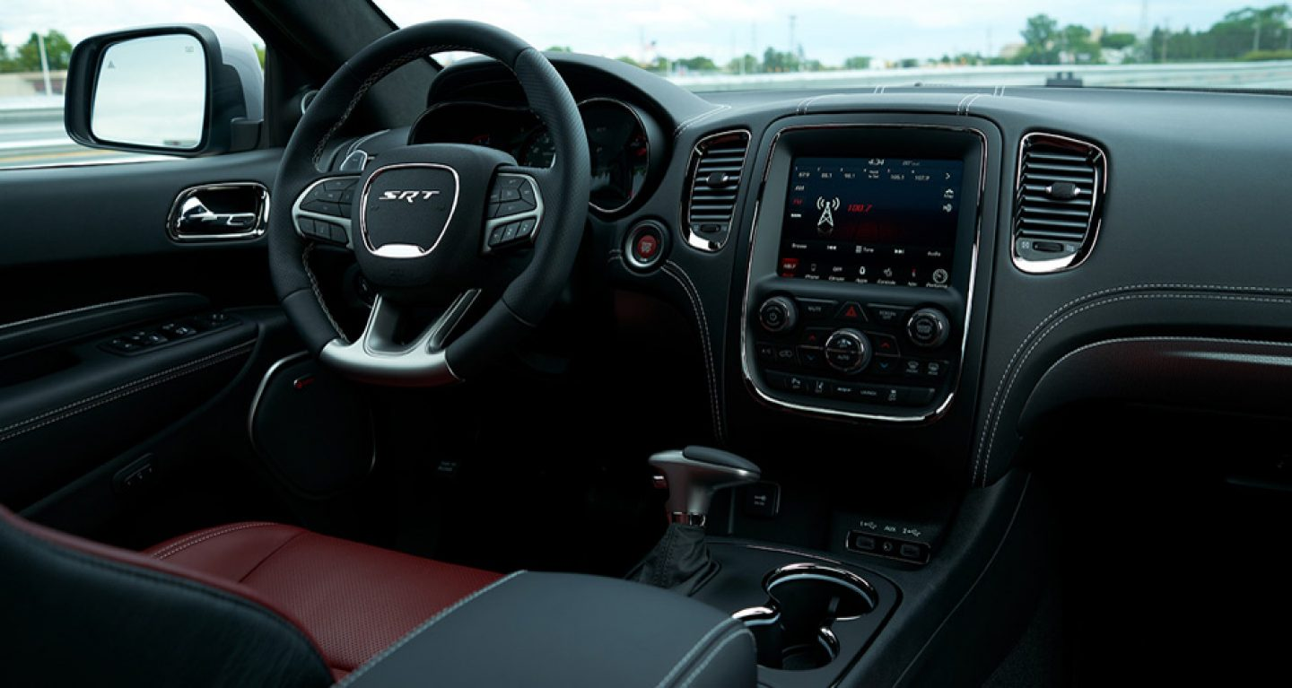 interior dodge speed cars durango r t top
