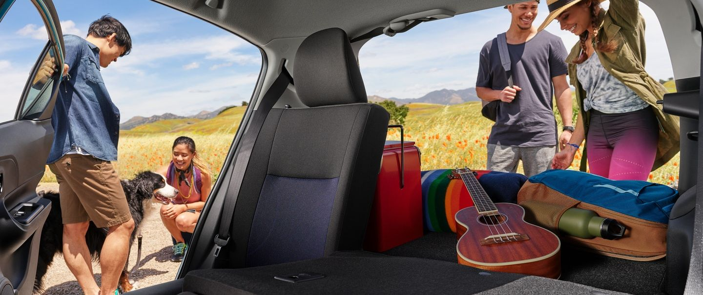 Plenty of Space Inside the 2018 Toyota Prius c!