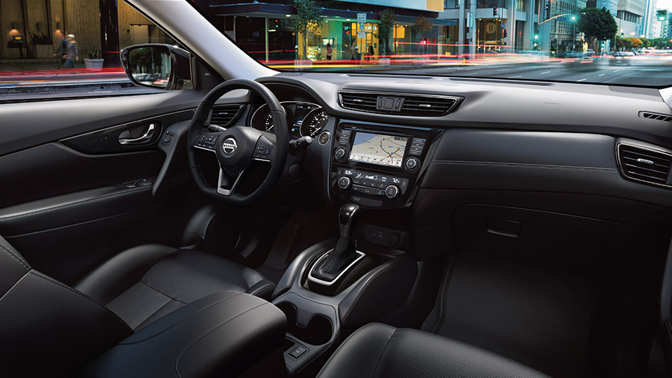 Interior of the Rogue