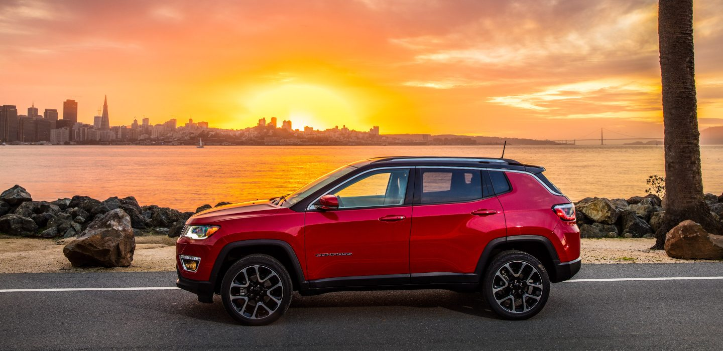 2018 Jeep Compass Trim Levels in Edmonton, AB