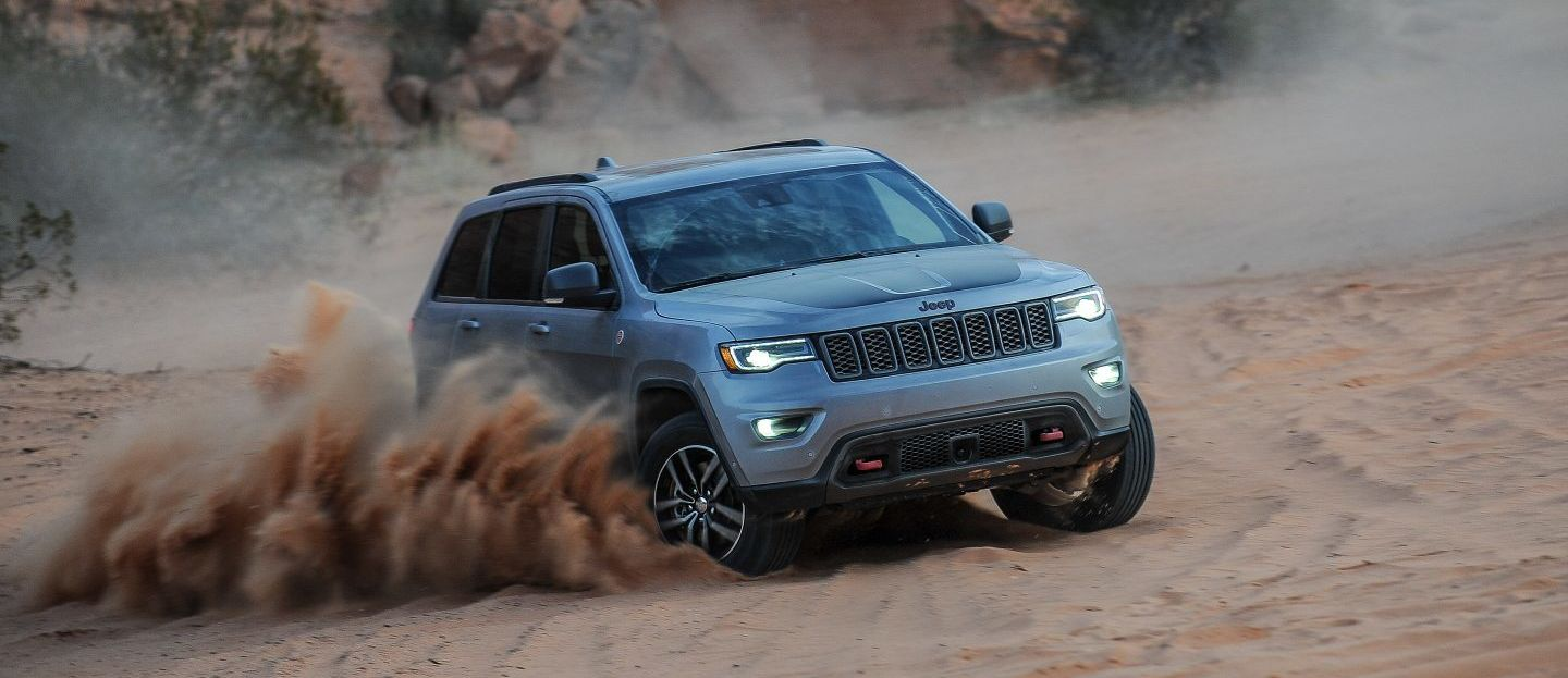 2018 Jeep Grand Cherokee Trim Levels in Edmonton, AB