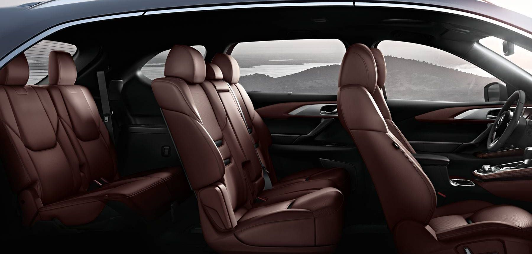 Spacious Interior Of The 2018 Mazda CX 9