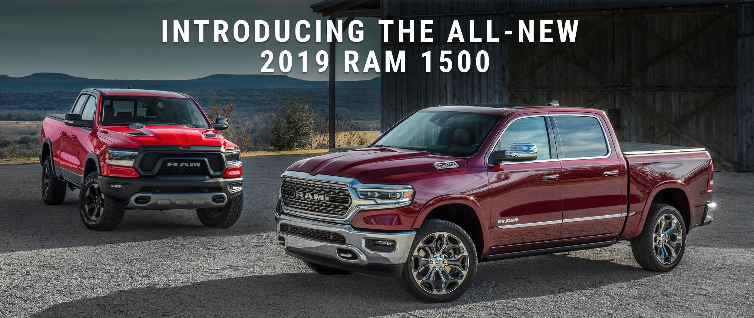 2019 Ram 1500 for sale in Edmonton - All New for 2019!