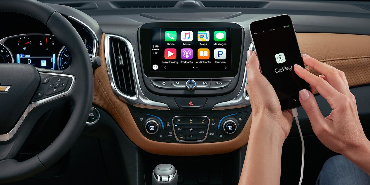 Apple CarPlay™ in the Chevy Equinox