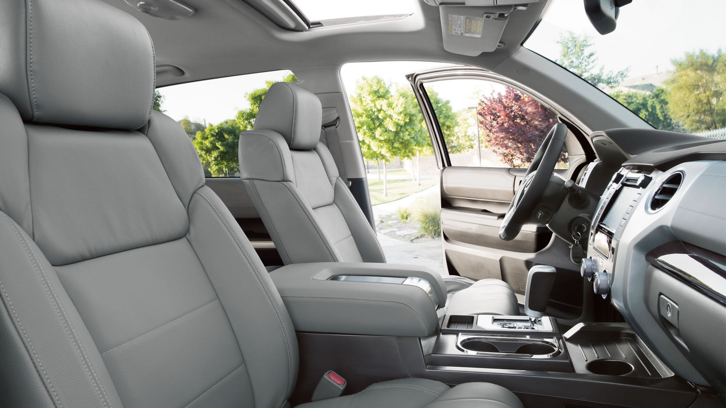 Plenty of Space Inside the 2018 Toyota Tundra!