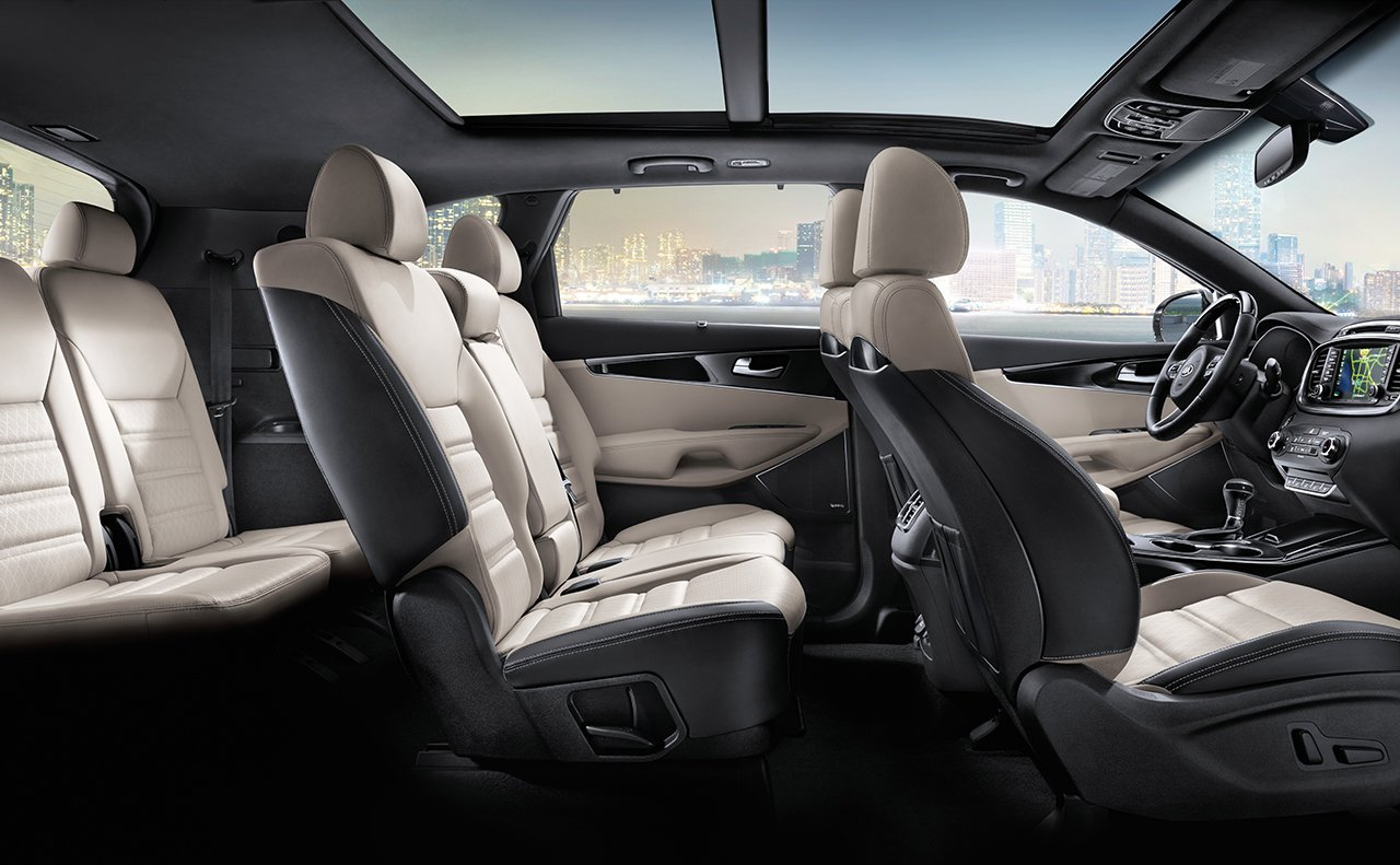Interior of the 2018 Sorento