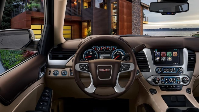 The Luxurious Interior of the GMC Yukon