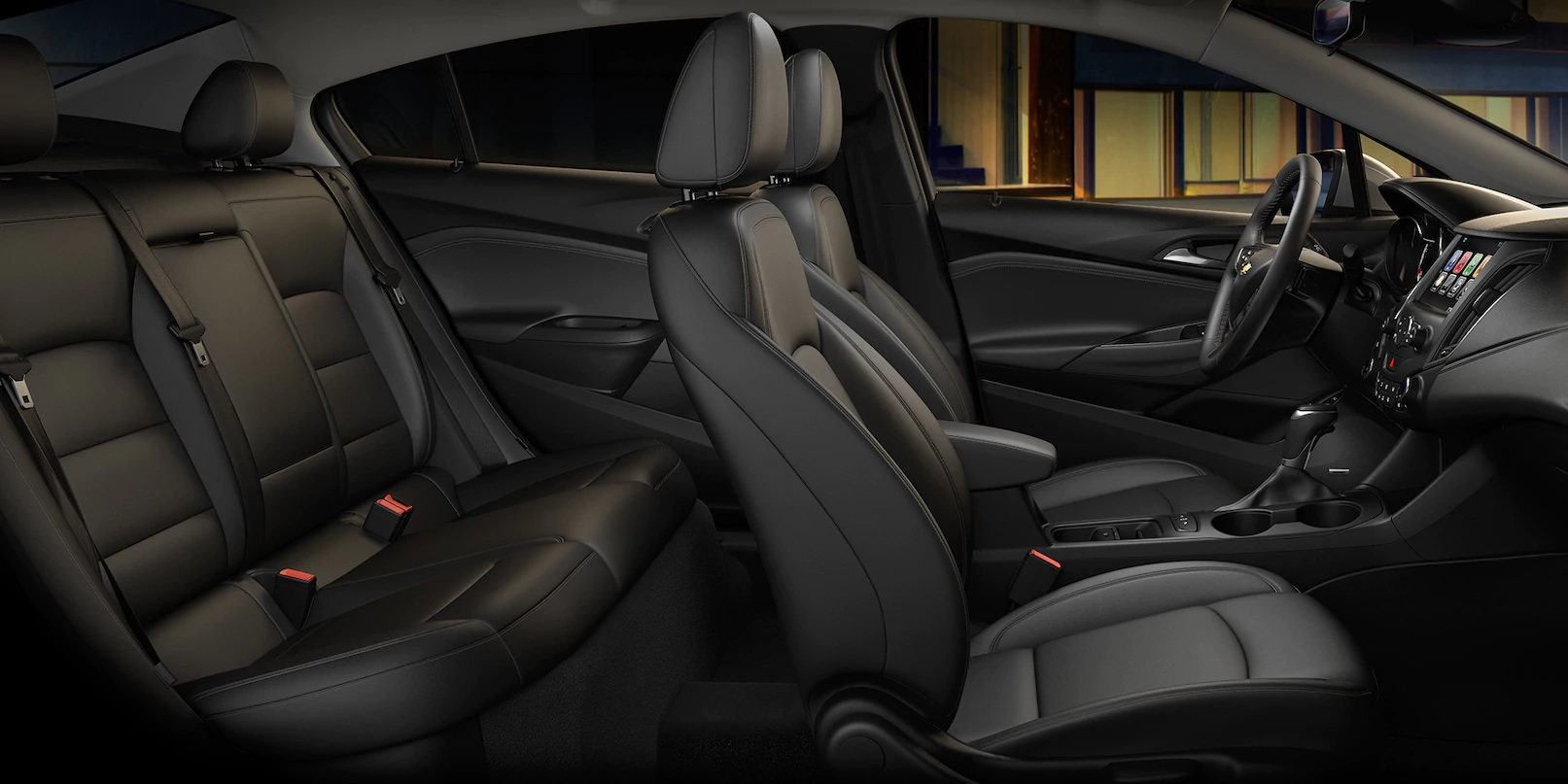 Ample and Comfortable Seating in the 2018 Cruze