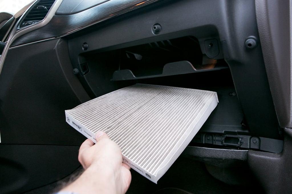 cabin air filter replacement service  rowlett tx prestige ford