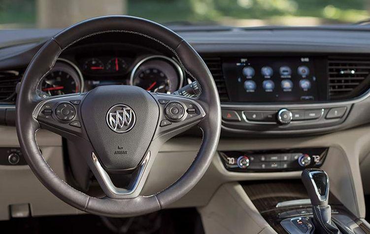 Interior Of The 2018 Buick Regal Sportback