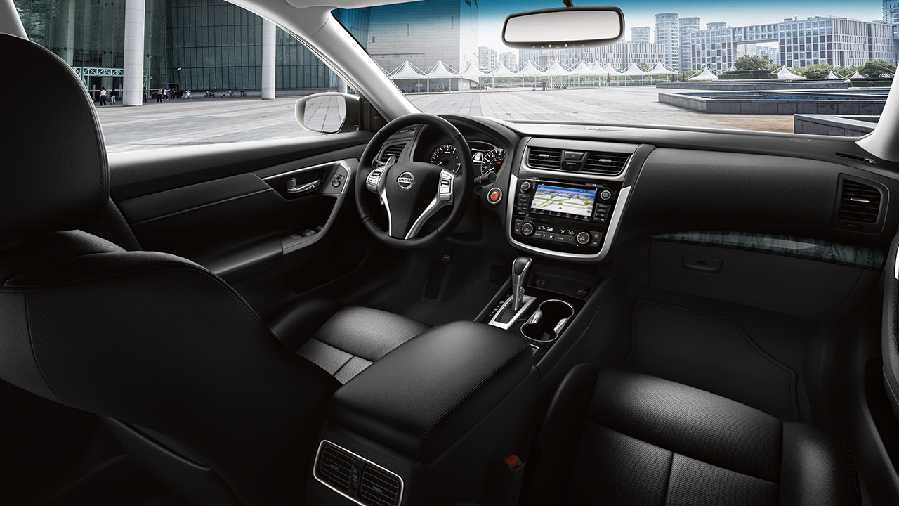 Interior of the 2018 Nissan Altima