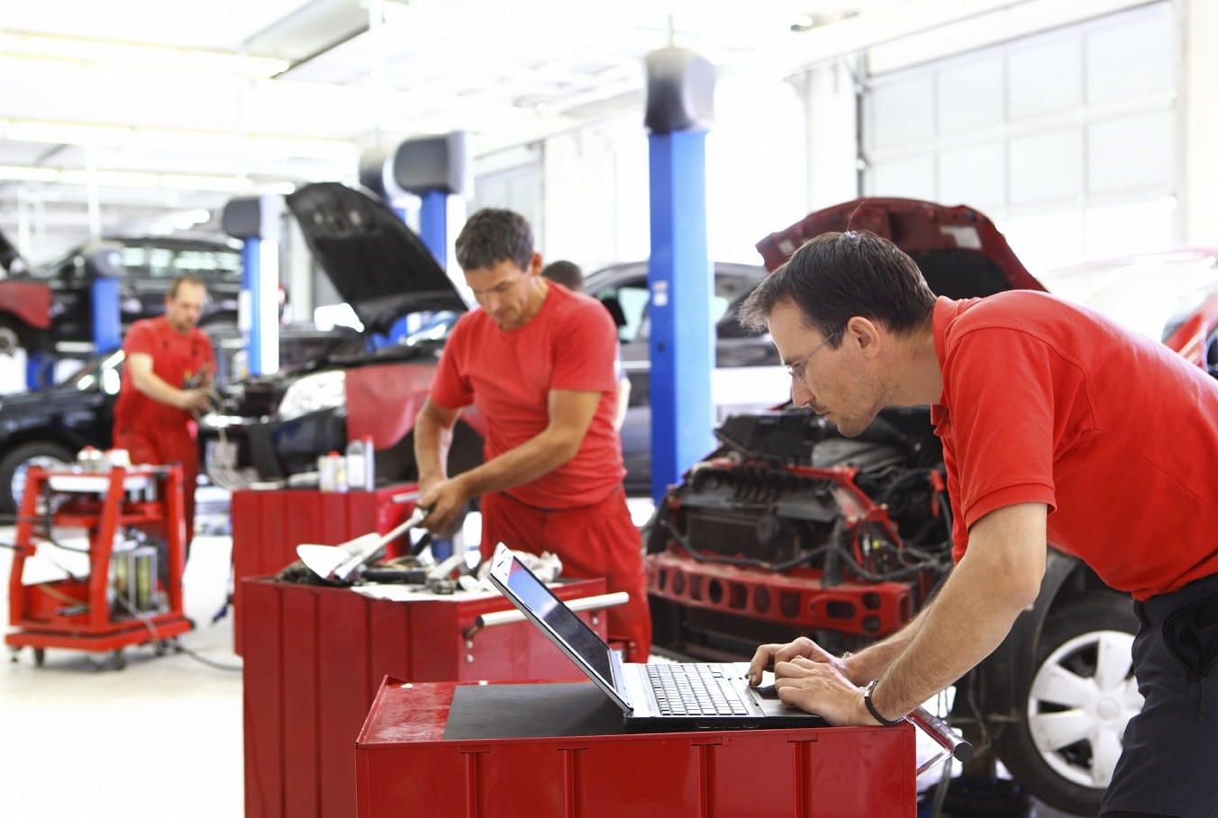Our Service Technicians Will Take Good Care of Your Vehicle!