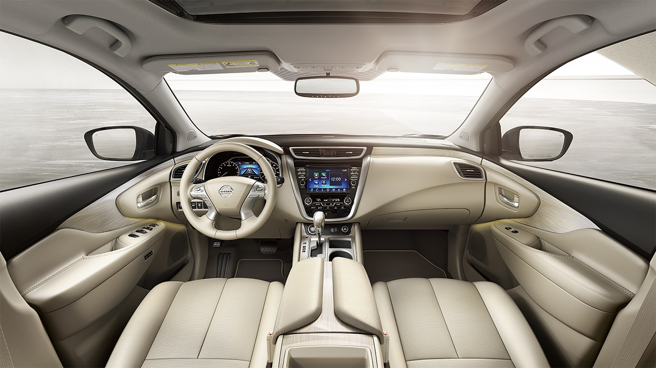 Interior of the 2018 Nissan Murano