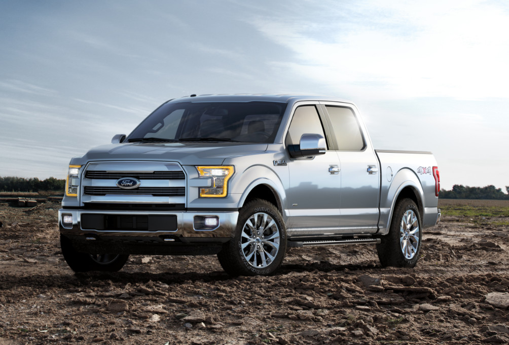 History of the Ford 2015 F150 Aluminum