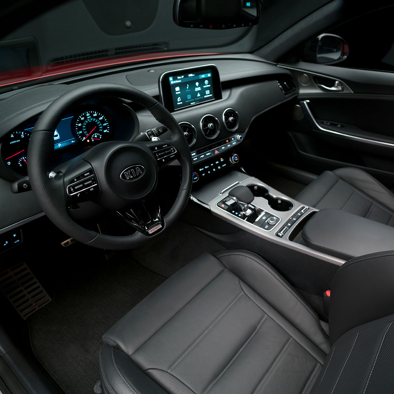 2018 Stinger Interior