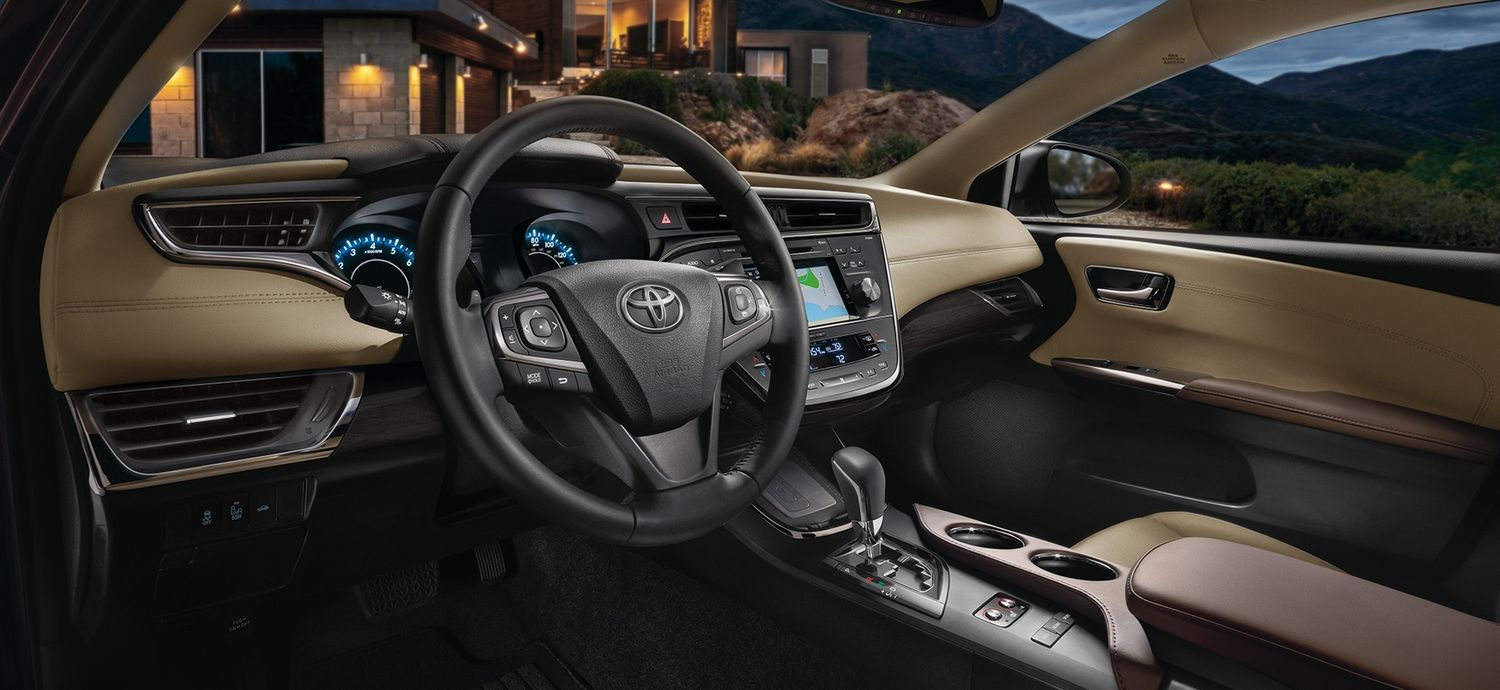 Luxurious Cabin of the 2018 Toyota Avalon