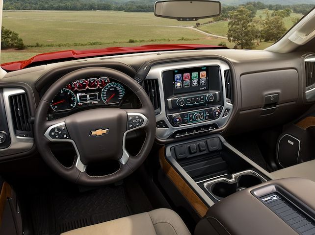 Interior of the 2018 Chevrolet Silverado 1500