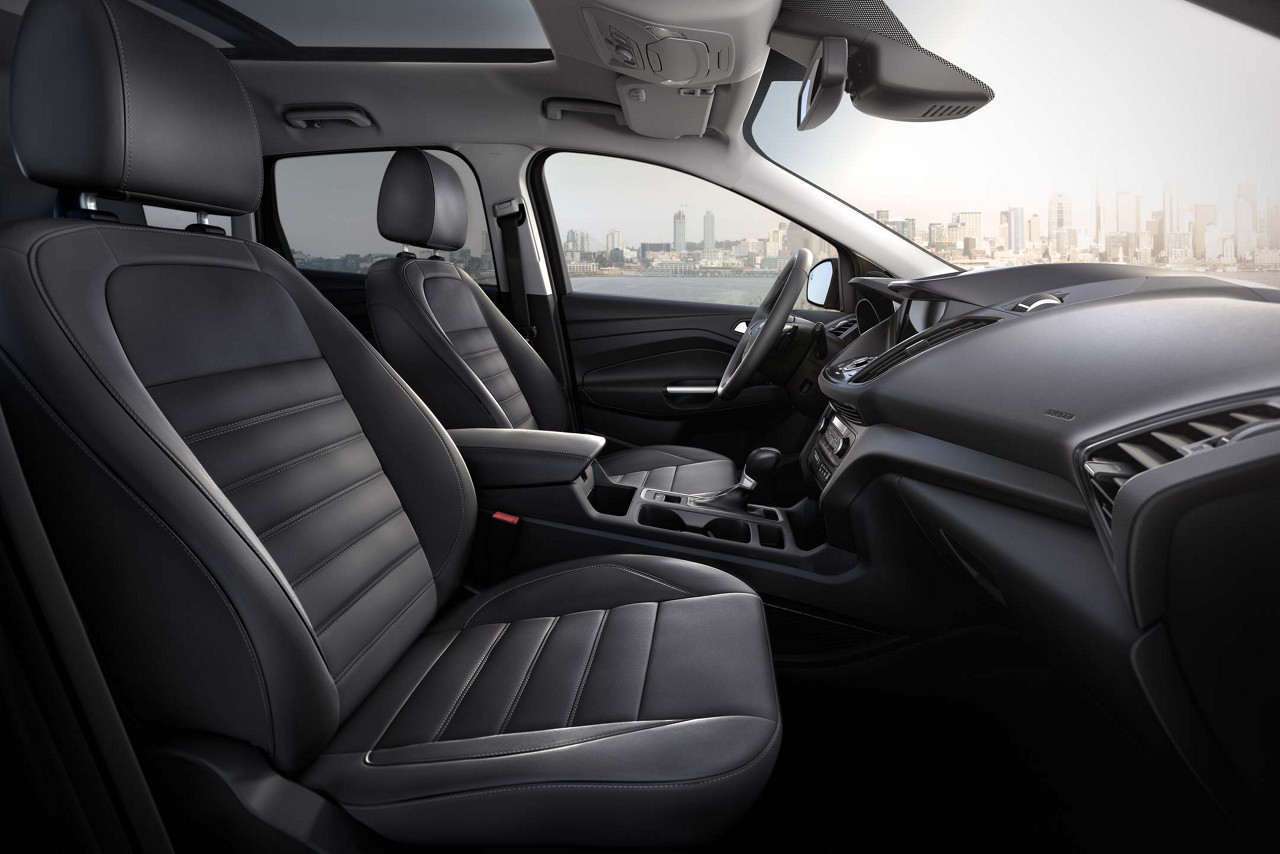 Spacious Interior of the 2018 Ford Escape
