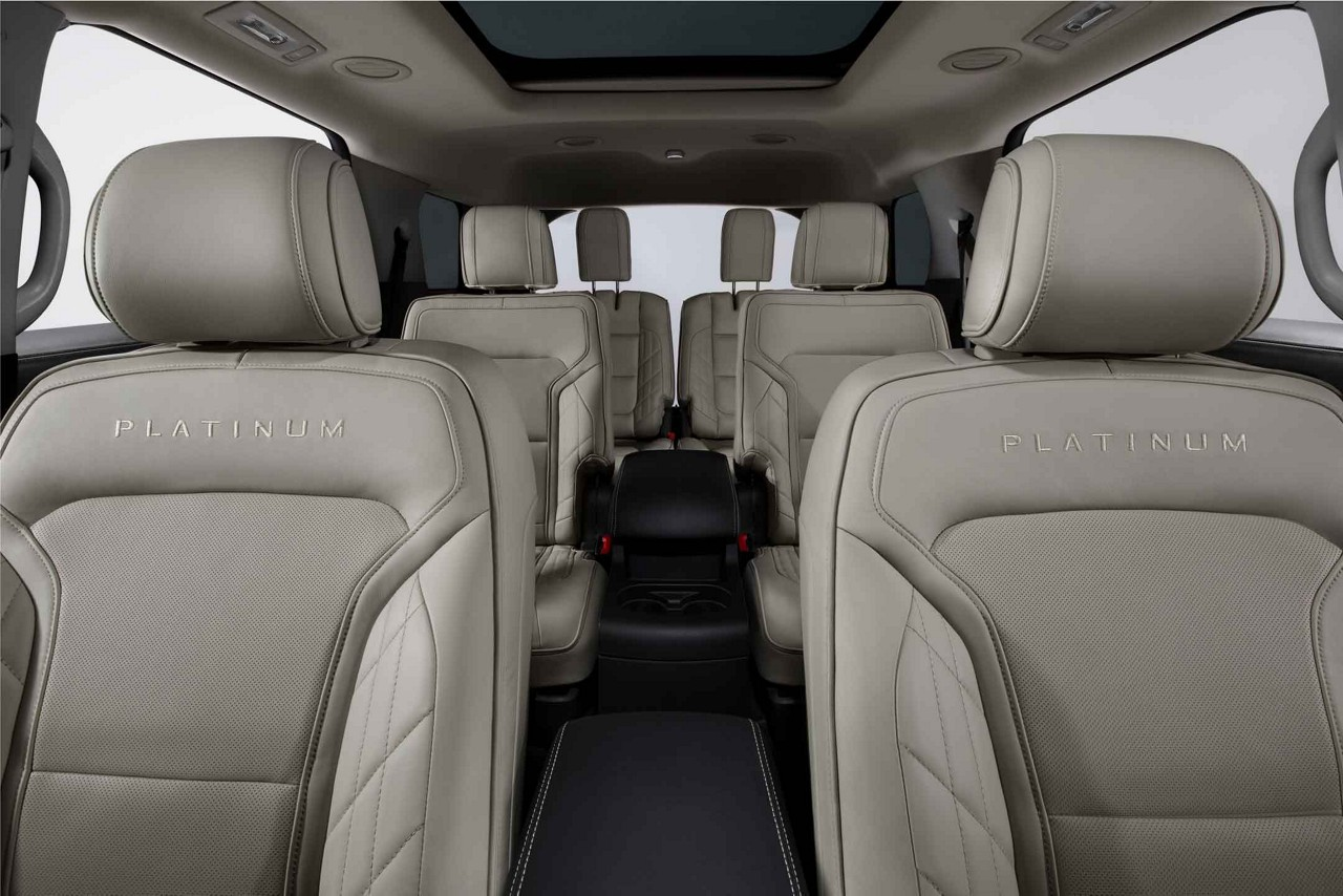 Plenty of Space Inside the 2018 Ford Explorer