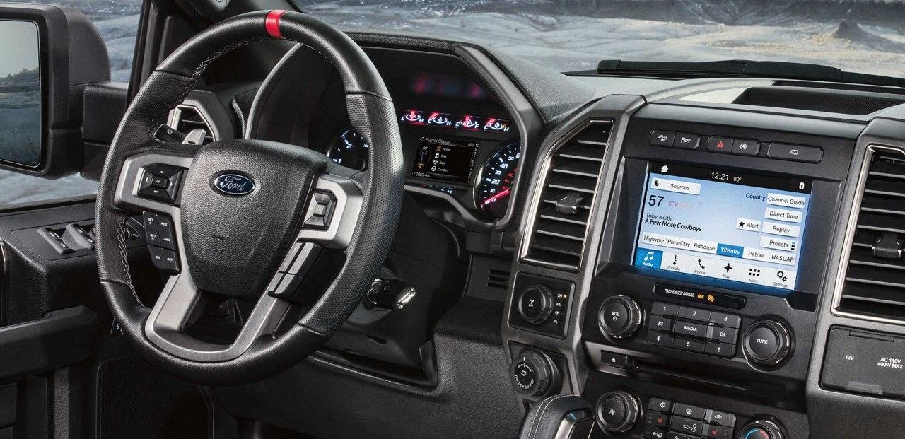 Tech-Loaded Interior of the 2018 Ford F-150
