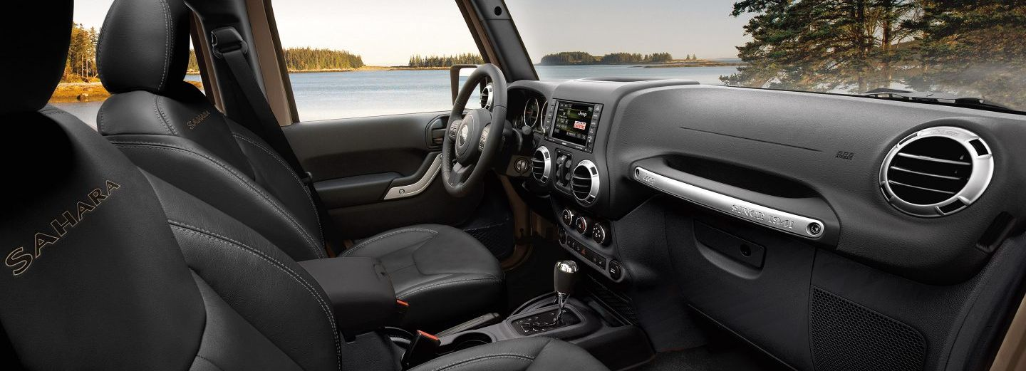 2018 Wrangler Unlimited Interior