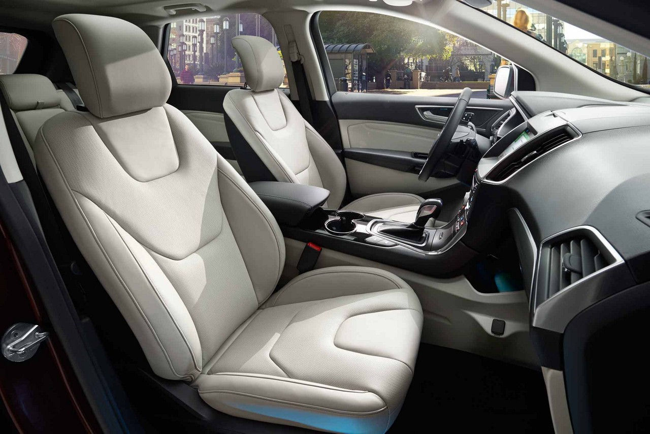 Ford Edge Interior With Optional Leather Seating