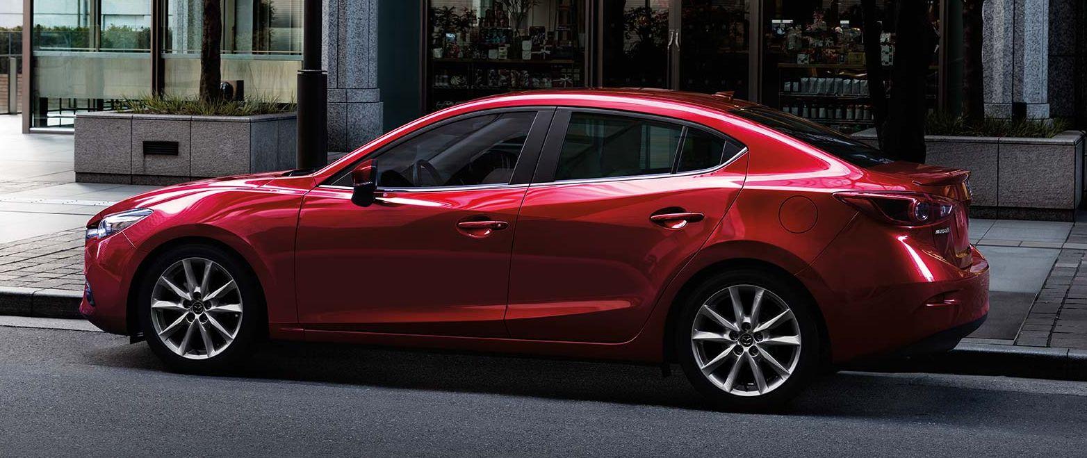 Mazda 3 Owners Manual: Maintaining the Finish