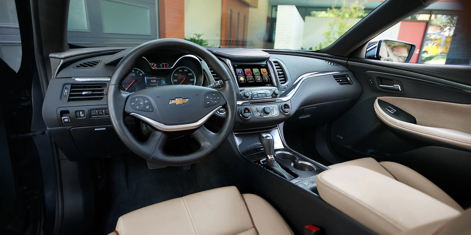 Interior of the 2018 Chevrolet Impala