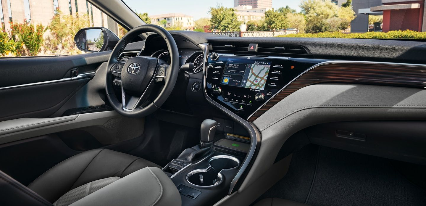 Spacious Interior of the 2018 Toyota Camry