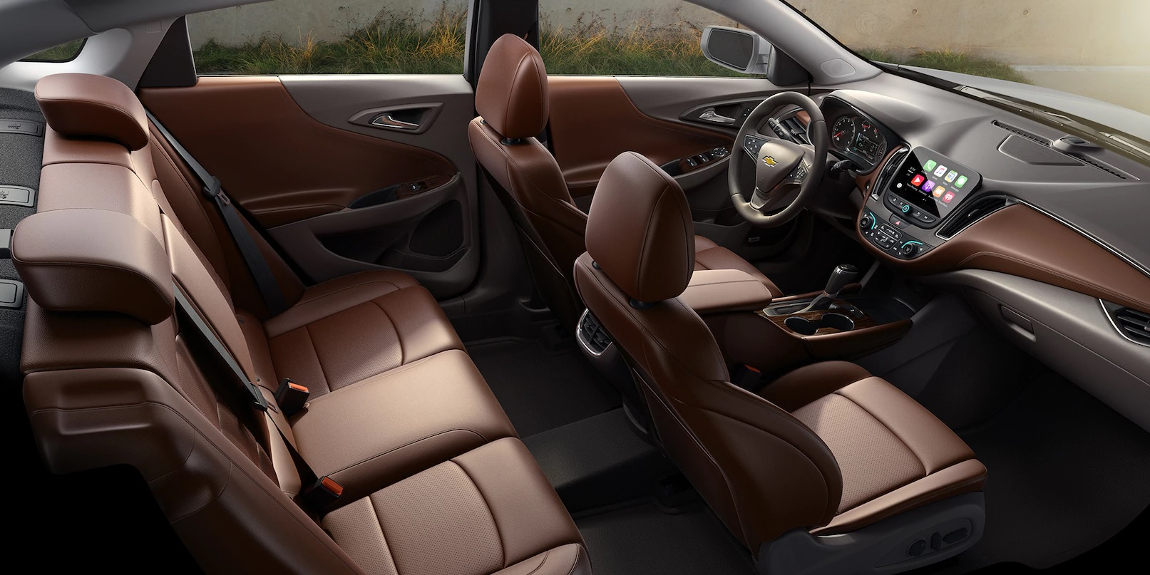 The Refines and Tech Savvy Interior of the Malibu