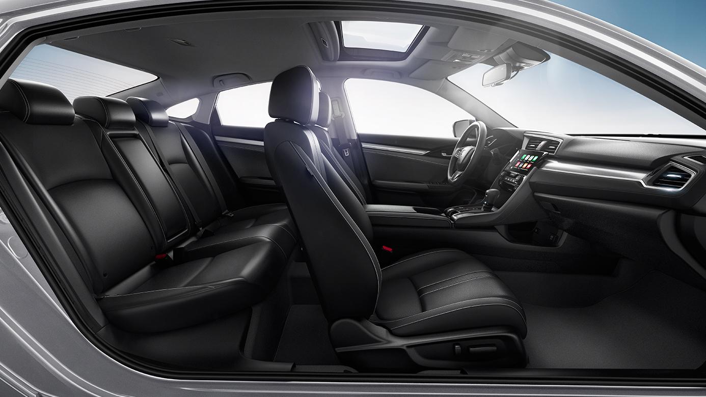 Honda Civic New Sedan Lx 4dr Interior Wallpapers Heroes
